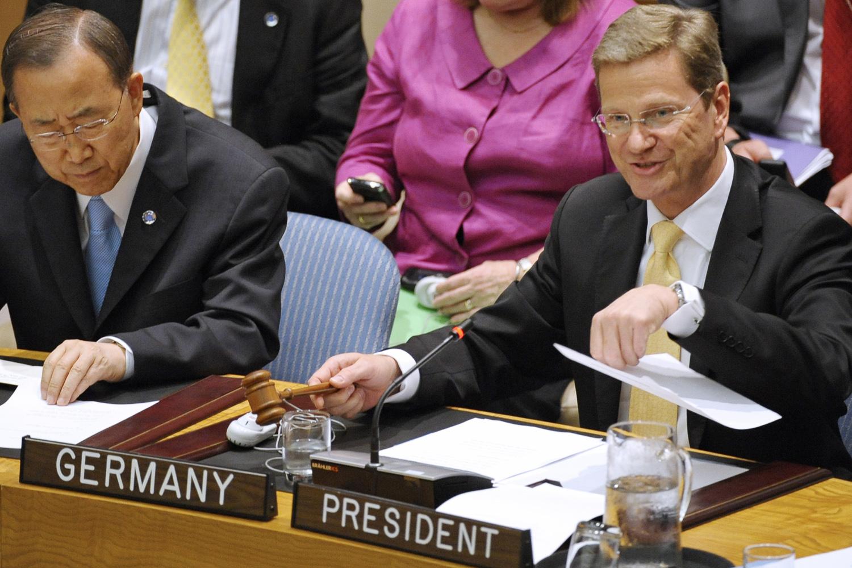 Deutscher Vorsitz im UN-Sicherheitsrat