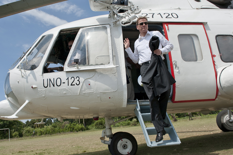 Außenminister Westerwelle besucht Haiti