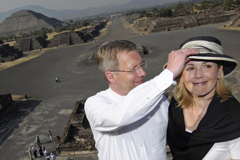 Bundespräsident Wulff besucht Mexiko