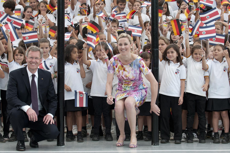 Bundespräsident Wulff besucht Costa Rica