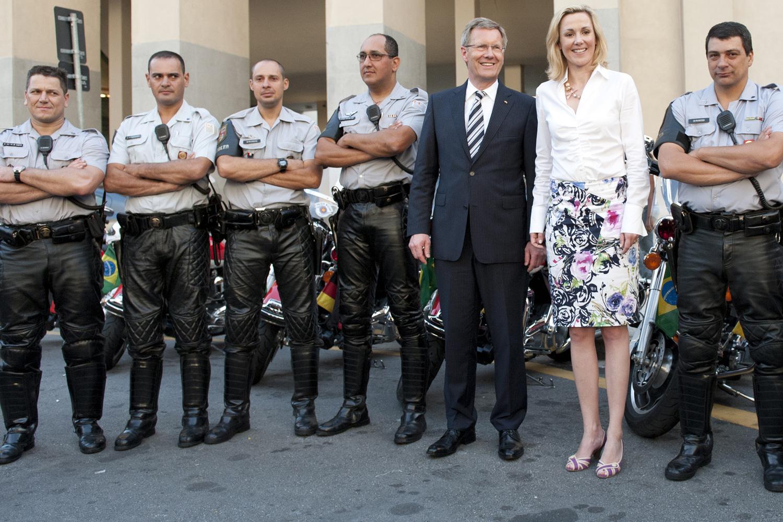 Bundespräsident Wulff besucht Brasilien