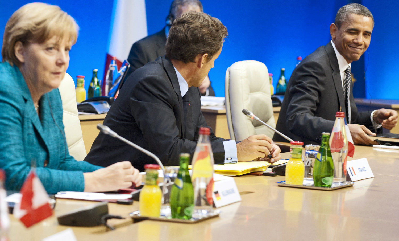 Treffen der G8-Staaten in Frankreich