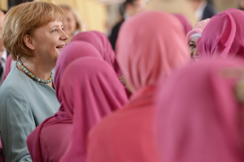 Bundeskanzlerin Merkel besucht Indonesien