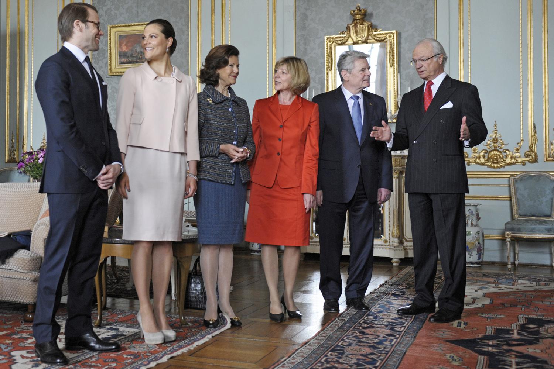 Bundespräsident im Königsschloß