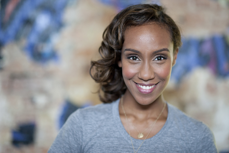 Moderatorin Madnet Tesfai