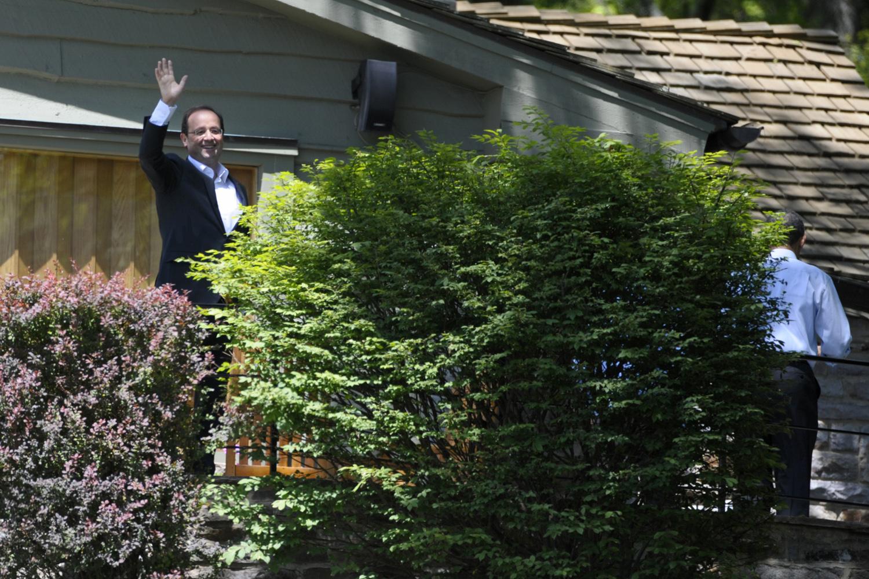 Treffen der G8-Staaten in Camp David