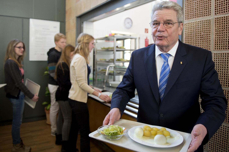 Bundespräsident Gauck besucht Hessen