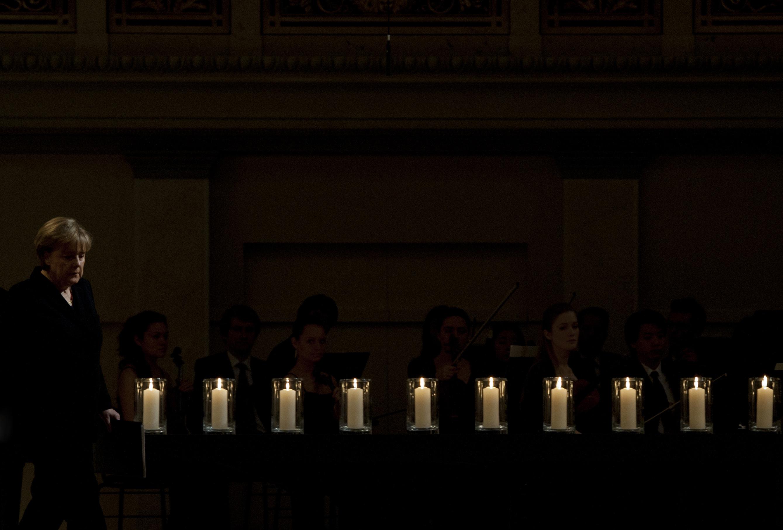 Eine Kerze für jedes Opfer