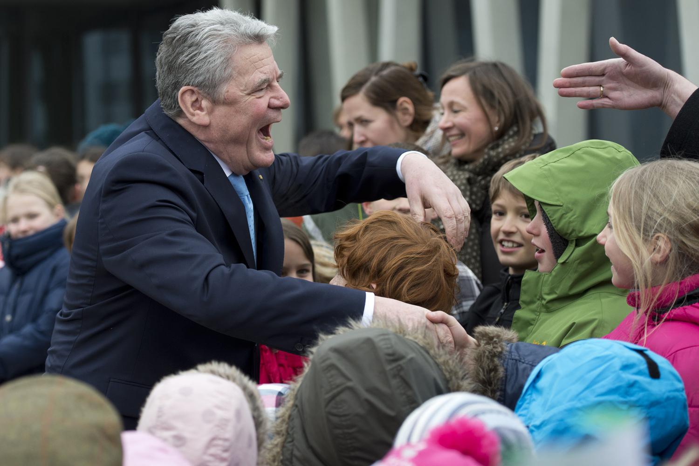 Bundespräsident Gauck besucht Genf