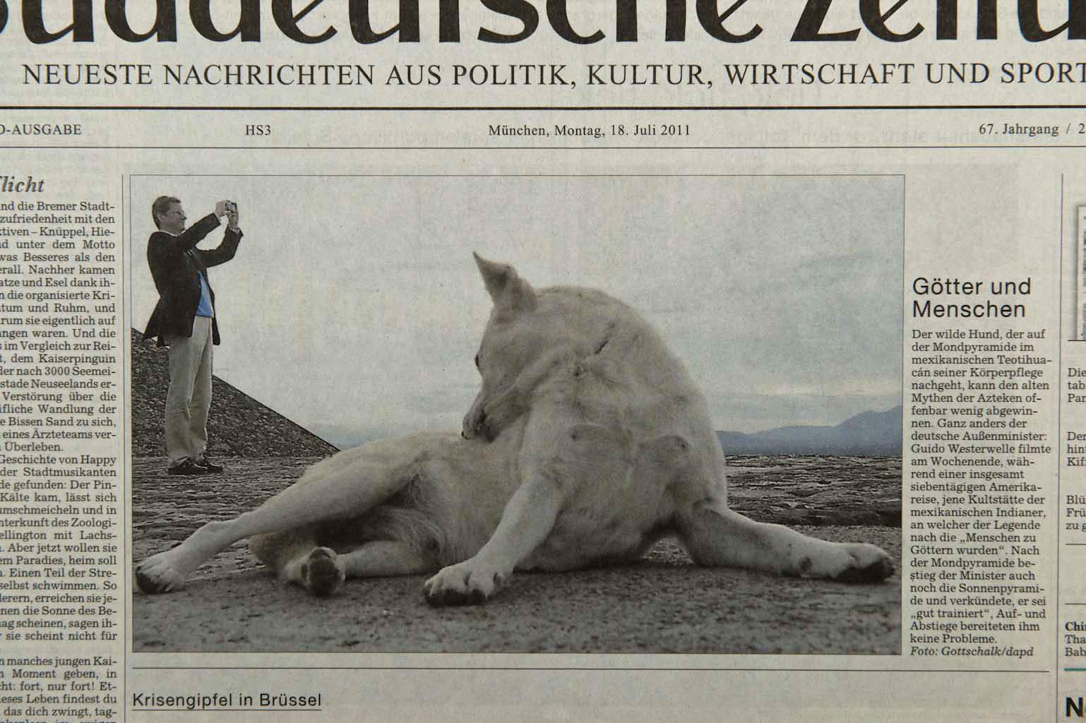 Süddeutsche Zeitung, 18.07.11