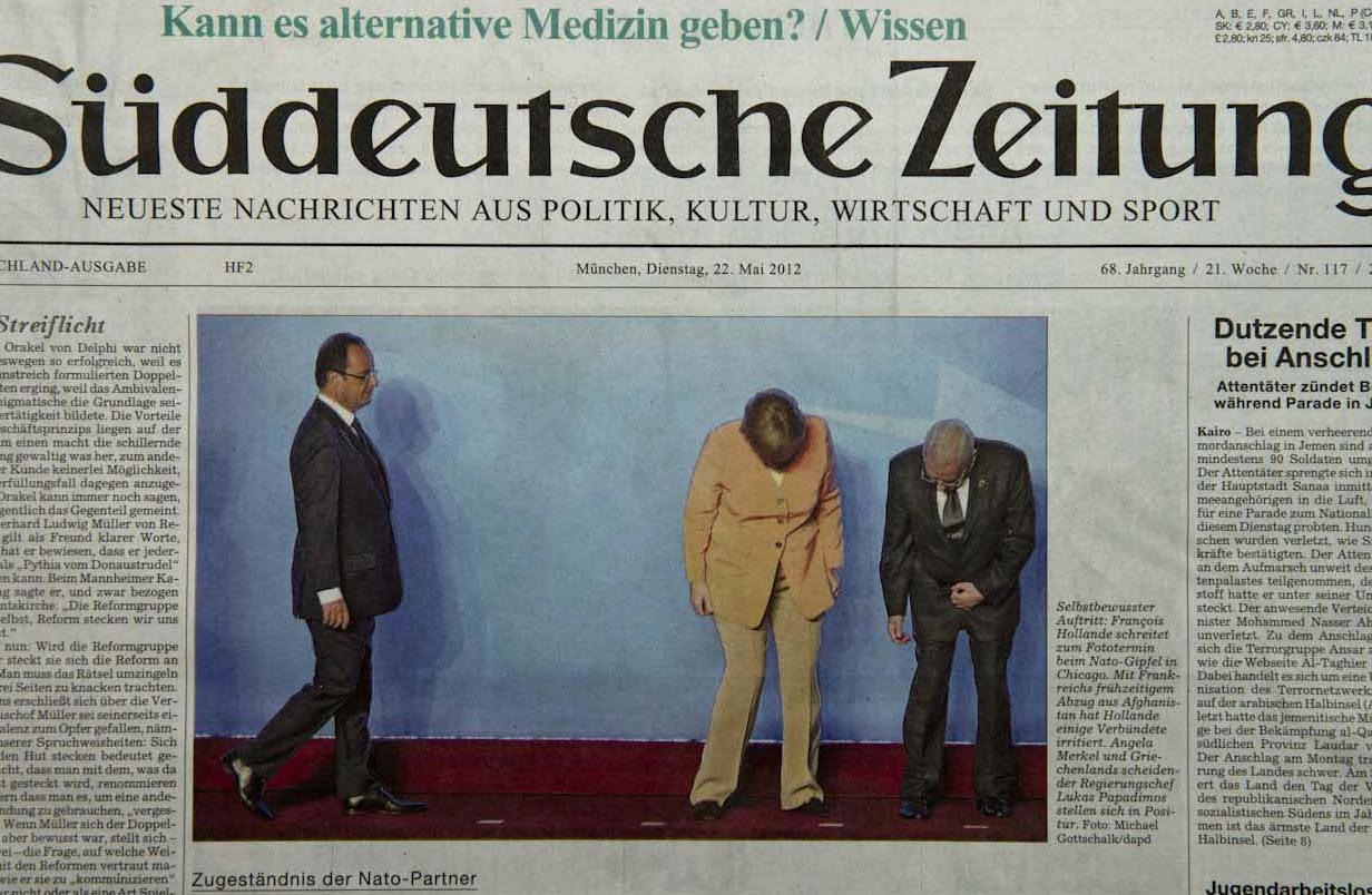Süddeutsche Zeitung, 22.05.12