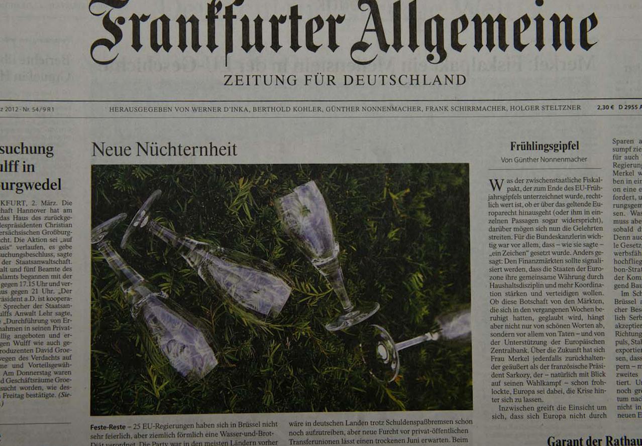 Frankfurter Allgemeine Zeitung, 03.05.12