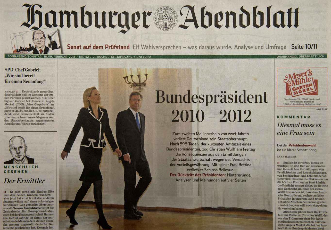 Hamburger Abendblatt, 18.02.12