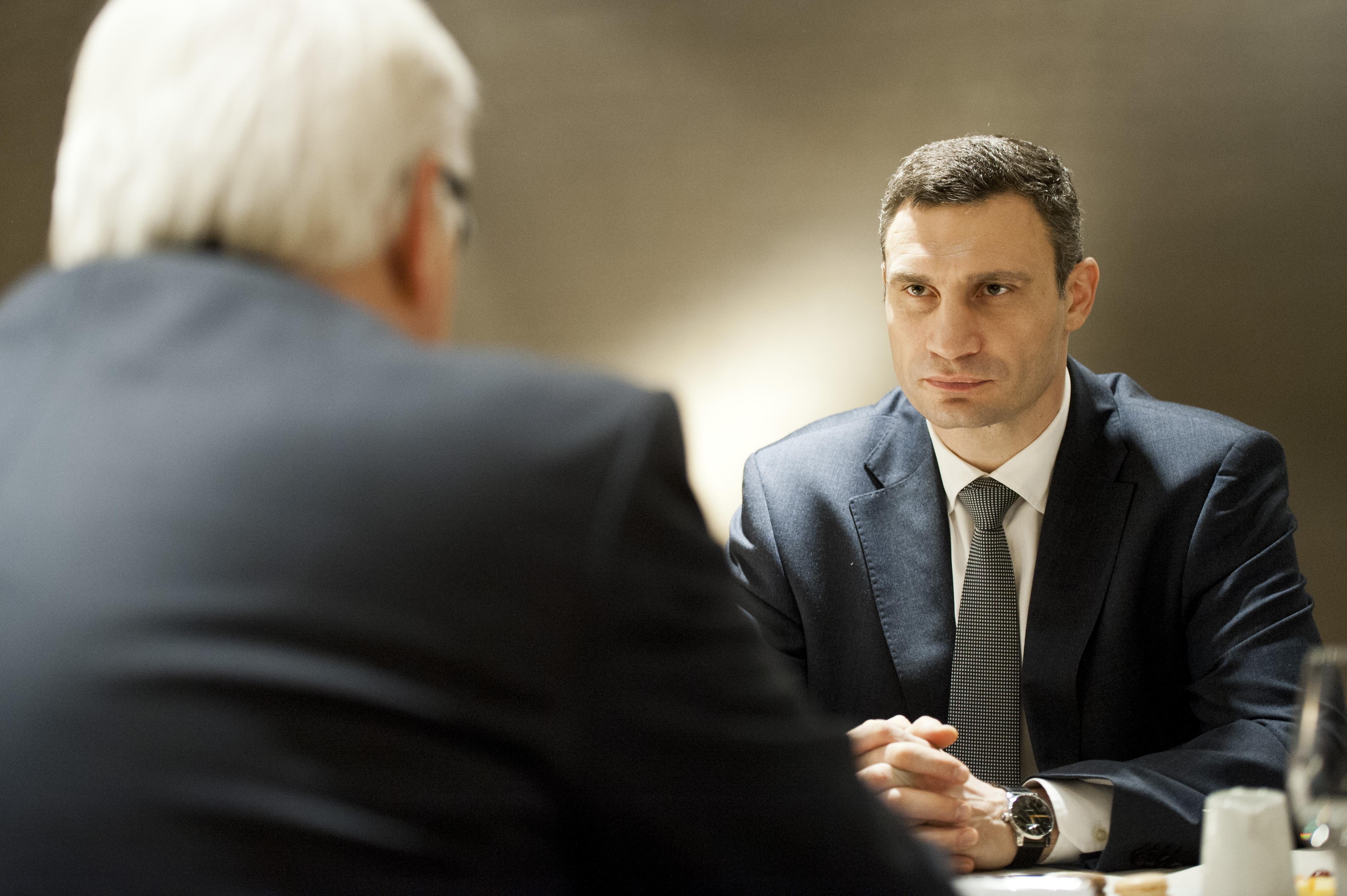 Steinmeier trifft Klitschko