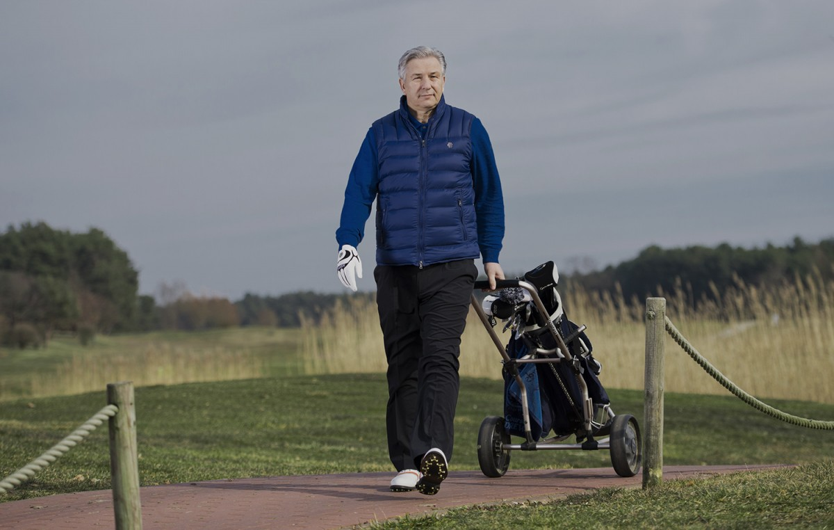Wowereit spielt Golf
