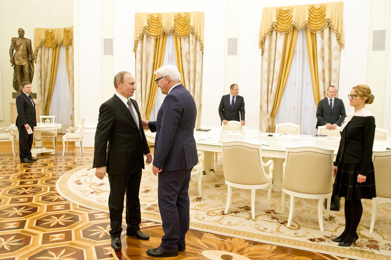 BM Steinmeier besucht Moskau