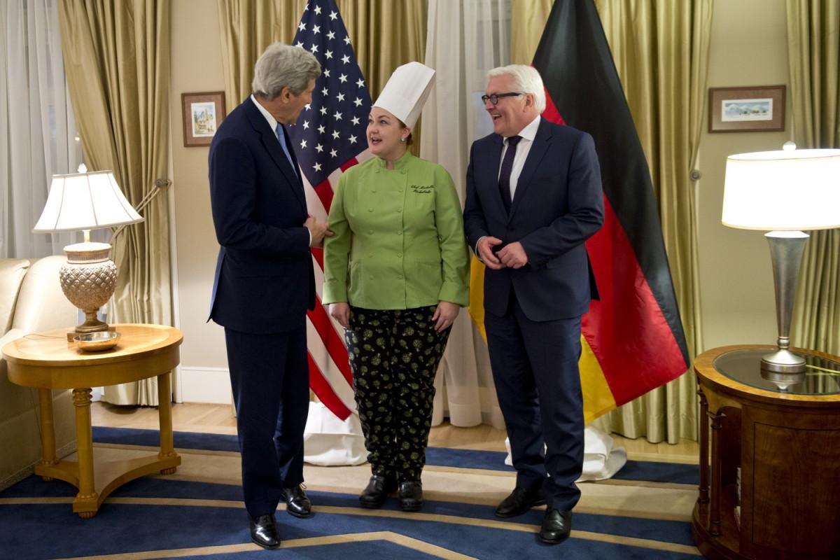 Steinmeier und Kerry